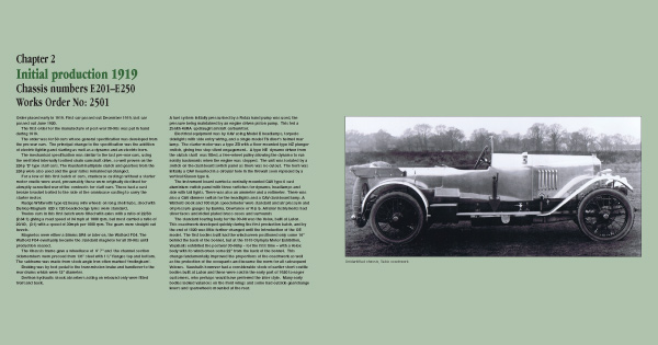 Beginning of chapter 2 of 30-98 Vauxhall centenary index