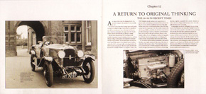 First illustrating spread from the book Vauxhall 30-98: The Finest of Sporting Cars by Nic Portway