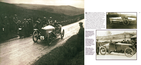 Second spread illustration from Vauxhall Cars 1903-1918, Book 2, Claiming the Rewards